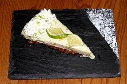 The Key Lime Pie (Tarte citron Vert à l'américaine)