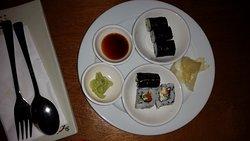 Speisen vom Buffet......