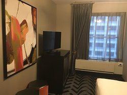 Interesting hotel; unique style/design
