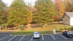 Vista del estacionamiento