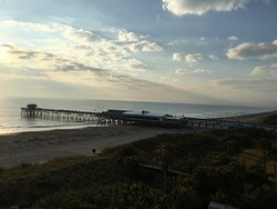 Cocoa Beach Pier. Easy access from hotel!