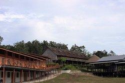Borneo Tribal Village