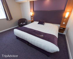 The Disabled Access at the Premier Inn Cambridge North (Girton) Hotel