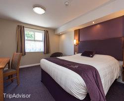 The Double at the Premier Inn Cambridge North (Girton) Hotel