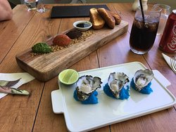 Dips Board & Oysters
