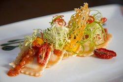Crabmeat & lobster Ravioli