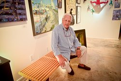Gallery owner, Paul Gildea, welcomes you to Key West. Visit us today.