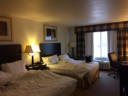 Holiday Inn Express Childress TX ---View of room