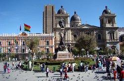Aca se encuentra uno de los lugares con mas historia arquitectonica de la ciudad de La Paz. (230083554)