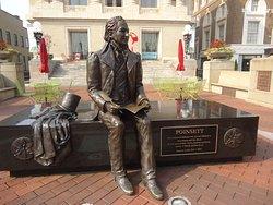 Joel Roberts Poinsett Statue