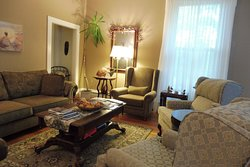 The front room - clean, inviting, comfortable