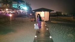 The beach Pavilion