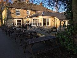 Pretty canal side pub