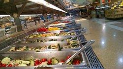Ingles Grocery Storet -salad bar