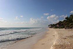 Quiet beach paradise