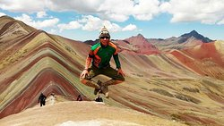 ‪The Rainbow Mountain Vinicunca Peru‬