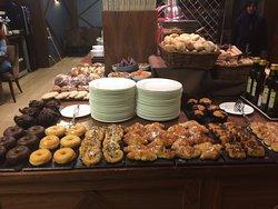 Bolleria desayuno buffet