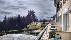 Vistas des del balcón de la habitación