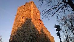 Castle ruins in Radyne