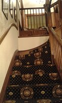 Stairs in the Victorian part of the hotel