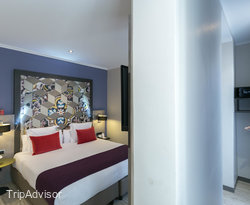 The Double Comfort Room at the Leonardo Hotel Barcelona Las Ramblas