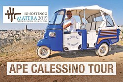 Ape Calessino Tour Matera