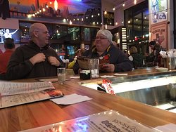Rock themed bar pub