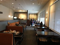 Panera Bread - view back into dining room