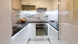 Apartment Gold kitchen
