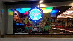 The Seaside Saloon Bar & Grill.