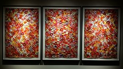 One example of the beautiful art that is located throughout the hotel.