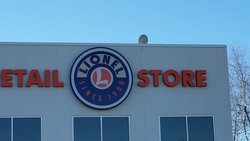 The Lionel Retail Store...