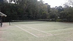 Tennis courts also available