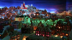 Pepperkakebyen - The Gingerbread Town