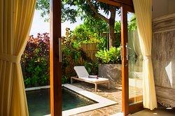 Rumah Cantik private swimming pool