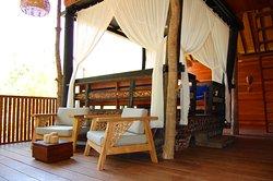 Rumah Karma relaxing area