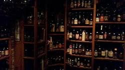 Cold room upstairs where the Belgian Ales rule.