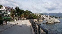 Promenade of Herceg Novi