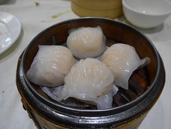 lots of different dim sum here
