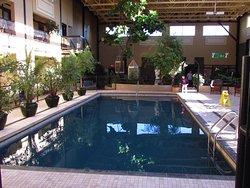 Loved the indoor swimming pool!