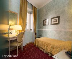 The Single Standard Room at the Hotel Doria
