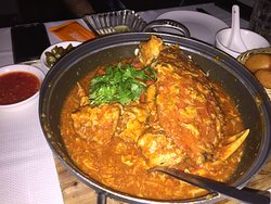 Chilli crab at its best!!