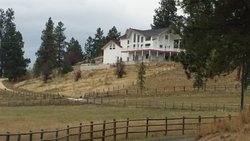 Turn onto Lorenz Spur Drive, Off Sheafman Creek Rd, Turn into the driveway of 350 Lorenz Spur to