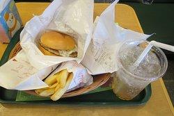 Mos Burger Plasse Kawauchi