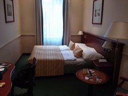 Hôtel agréable et bien situé pour les visites