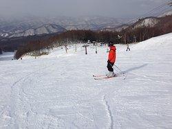 雪質のよいスキー場です