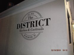 The District Kitchen & Cocktails.....
