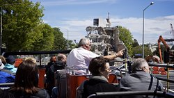 Our drivers provide a 'live' entertaining and informative commentary throughout your tour.