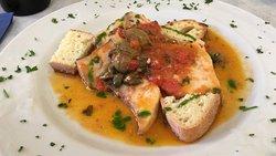 Feine traditionelle sizilianische Gerichte