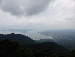 Great view of the Taal Lake
